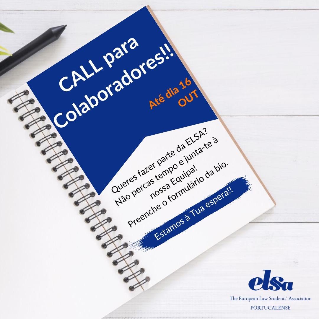 Call para Colaboradores