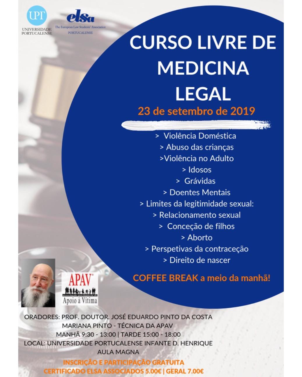 Curso Livre de Medicina Legal