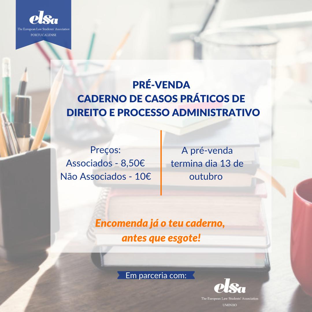 Pré-venda de Caderno de casos práticos de Direito e Processo administrativo