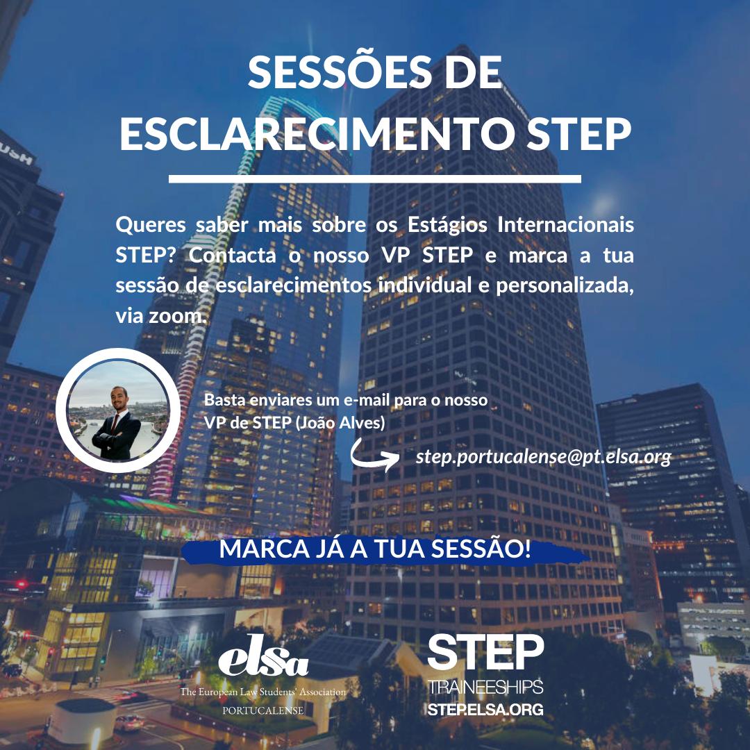 Sessões de Esclarecimento STEP