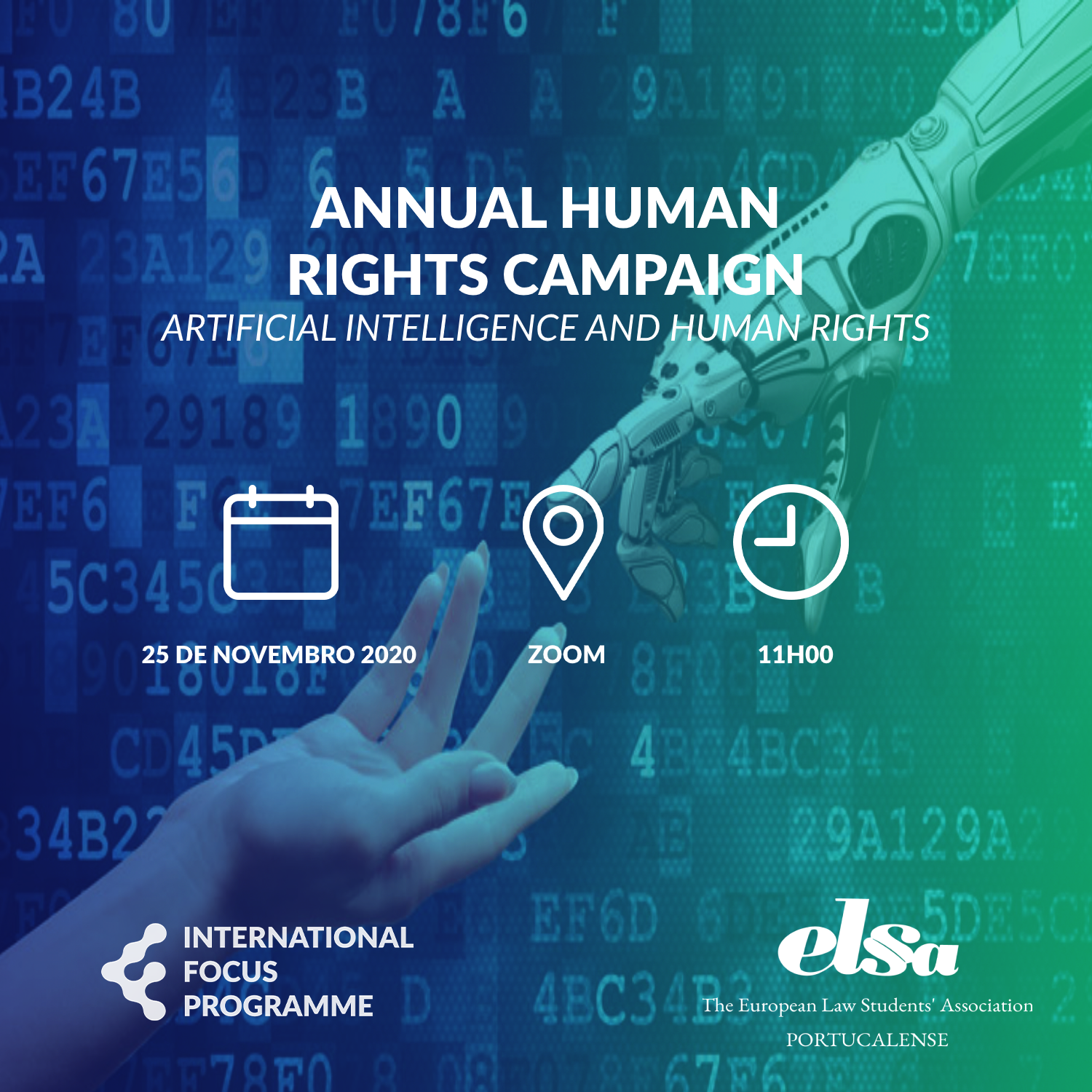 Annual Human Rights Campaign – Artificial Intelligence and Human Rights