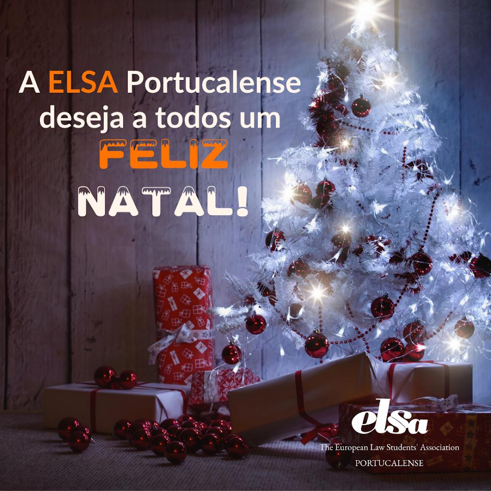 A ELSA Portucalense deseja um Feliz Natal !