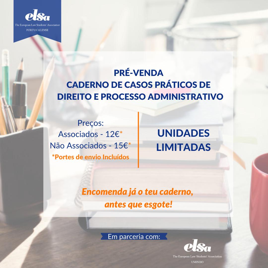 Caderno de Casos Práticos de Direito e Processo Administrativo