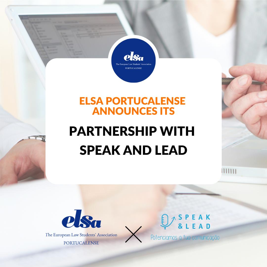 Parceria com Speak & Lead