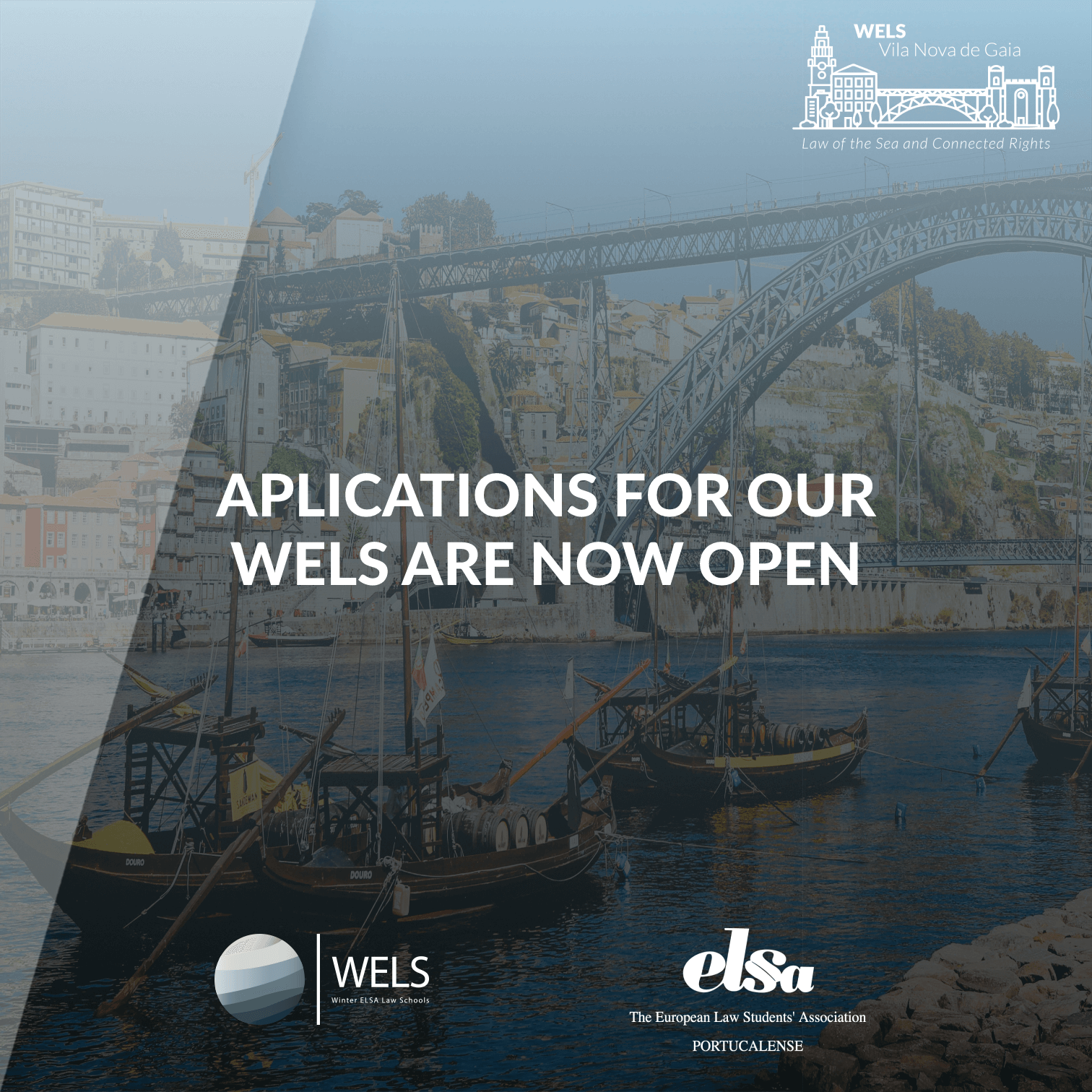 Aplications for our WELS are now open !
